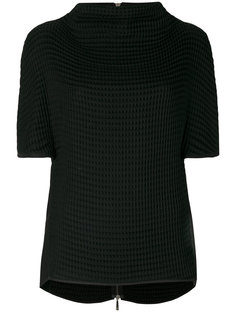 свитер с молнией на спине Masnada