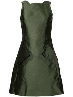 приталенное платье симметричного кроя Antonio Berardi