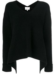 ребристый свитер с V-образным вырезом 3.1 Phillip Lim