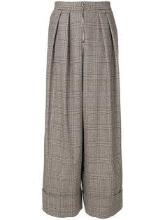 широкие твидовые брюки Joshua Millard