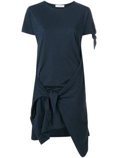 платье-футболка с узлом  JW Anderson