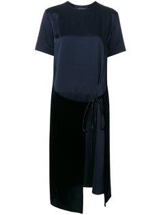 платье-футболка с запахом  Cédric Charlier