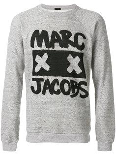 толстовка с принтом с логотипом Marc Jacobs