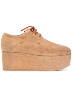ботинки-дезерты на платформе Marsèll