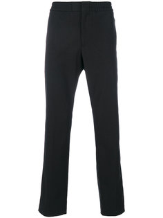 брюки в тонкую полоску MSGM