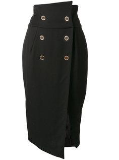 двубортная юбка-карандаш Alexandre Vauthier
