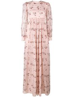 платье макси Pia Emilia Wickstead