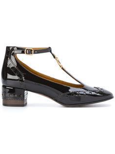 туфли с ремешком на щиколотке Chloé