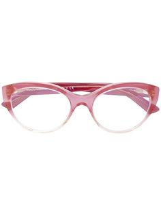 очки в овальной оправе Dolce & Gabbana Eyewear