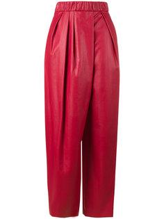 спортивные брюки с высокой талией Vika Gazinskaya