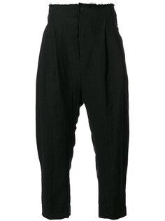 брюки с заниженной проймой Olubiyi Thomas