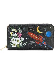 кошелек с принтом ракеты Dolce & Gabbana