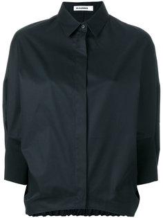 рубашка с эластичным подолом Jil Sander