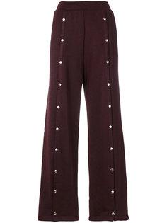 брюки с заклепками T By Alexander Wang