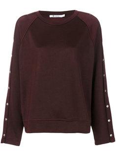 свитер с заклепками T By Alexander Wang