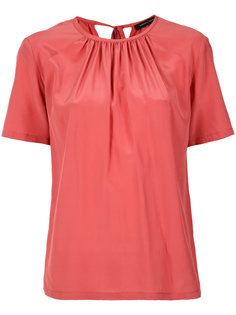 pleated blouse Andrea Marques