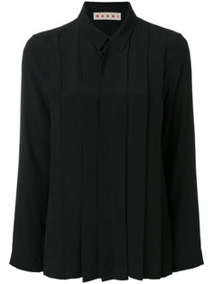 рубашка со складками Marni