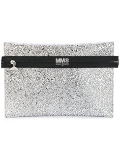 клатч с контрастным дизайном Mm6 Maison Margiela