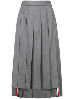 плиссированная юбка  Thom Browne