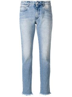 джинсы кроя слим MSGM