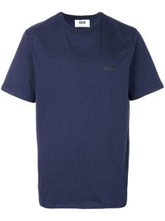 базовая футболка MSGM
