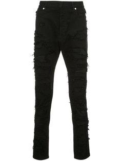джинсы с протертыми деталями Balmain