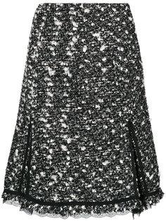 твидовая юбка с завышенной талией  Giambattista Valli