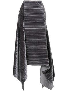 асимметричная юбка Aviù