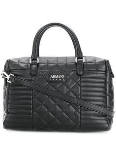 стеганая сумка-тоут Armani Jeans