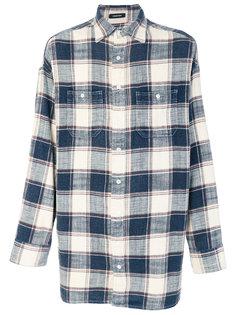 клетчатая рубашка R13