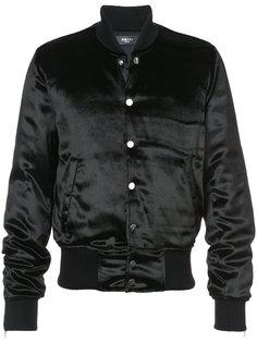 атласная куртка-бомбер Amiri