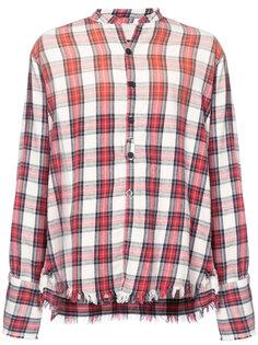 клетчатая рубашка Greg Lauren