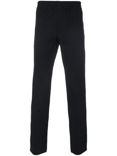 брюки с лампасами Alexander McQueen