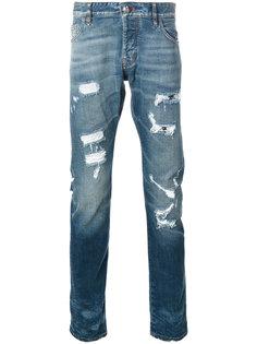 прямые джинсы Fukuko Philipp Plein