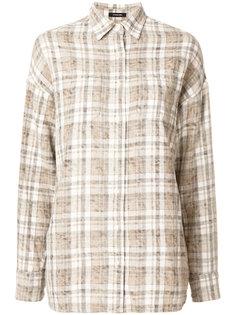 рубашка в клетку  R13
