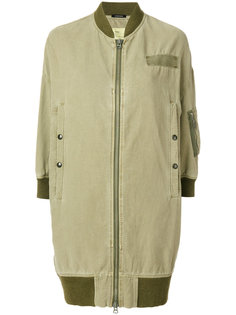 куртка на молнии с карманами  R13
