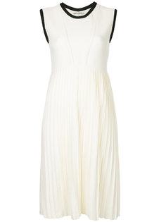 плиссированное платье  Taro Horiuchi