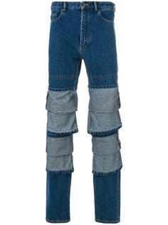 джинсы с многослойными вставками Y / Project