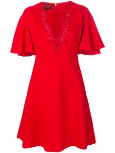 платье с волнистой кружевной отделкой Giambattista Valli