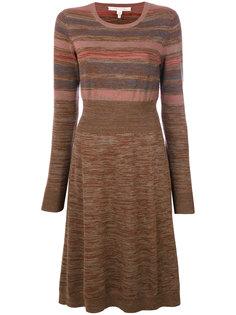 полосатое трикотажное платье Marc Jacobs
