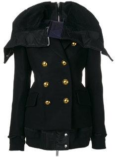 куртка милитари с большим воротником  Sacai