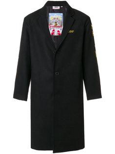 пальто с аппликацией сзади Gcds