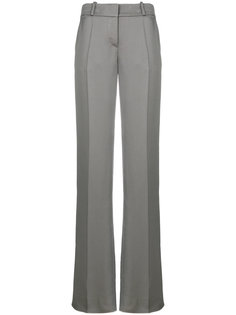 жаккардовые строгие брюки  Giorgio Armani
