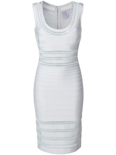 приталенное платье Hervé Léger