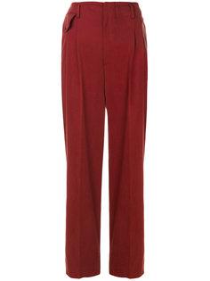 строгие брюки с завышенной талией  Golden Goose Deluxe Brand