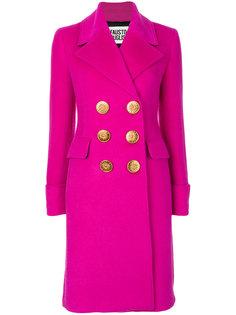 классическое двубортное пальто  Fausto Puglisi