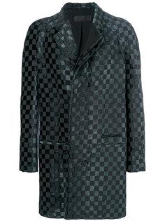 пальто в клетку Haider Ackermann