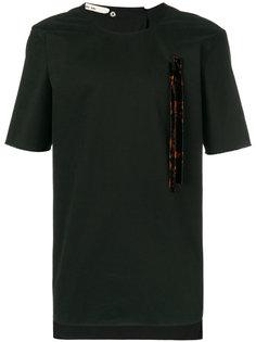 декорированная футболка  Damir Doma