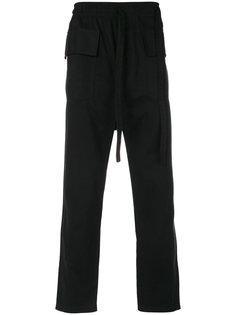 брюки карго с заниженной проймой Damir Doma