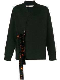 свитер с контрастной деталью Damir Doma